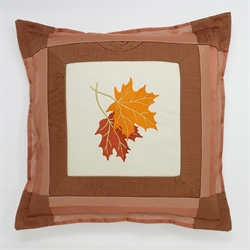 Maple Leaf Pair Cushion