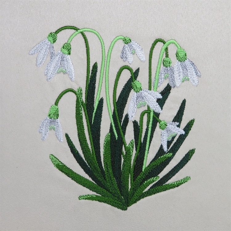 Snowdrops Cushion
