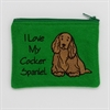 I Love My Cocker Spaniel Purse