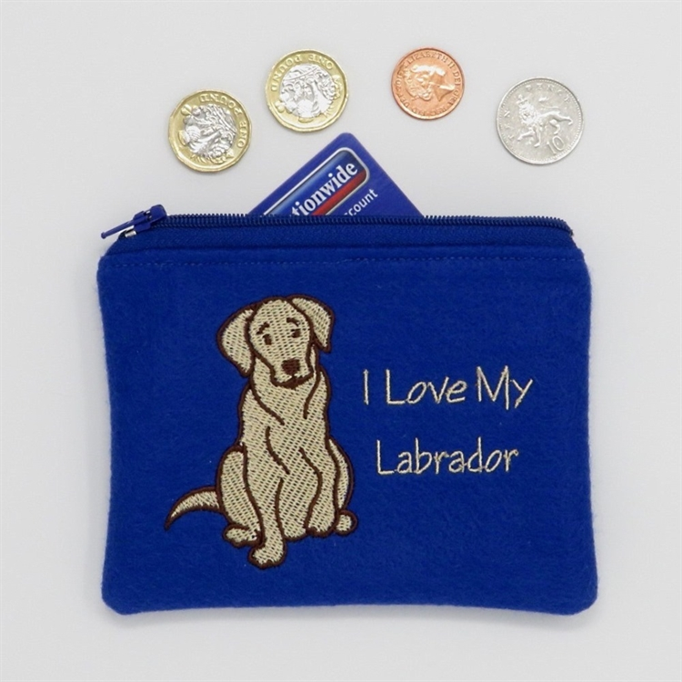 I Love My Labrador Purse