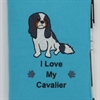 I Love My Cavalier A6 Notebook