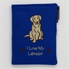 I Love My Labrador A6 Notebook
